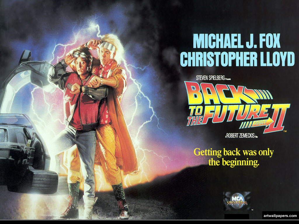 Back to the Future Wallpapers Posters Movie Poster 1024x768