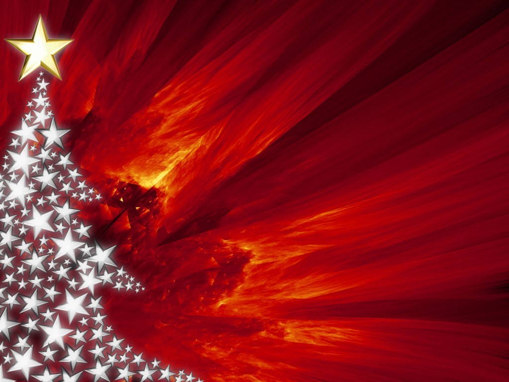 Christmas PowerPoint Backgrounds Red Xmas PowerPoint E 1024x768