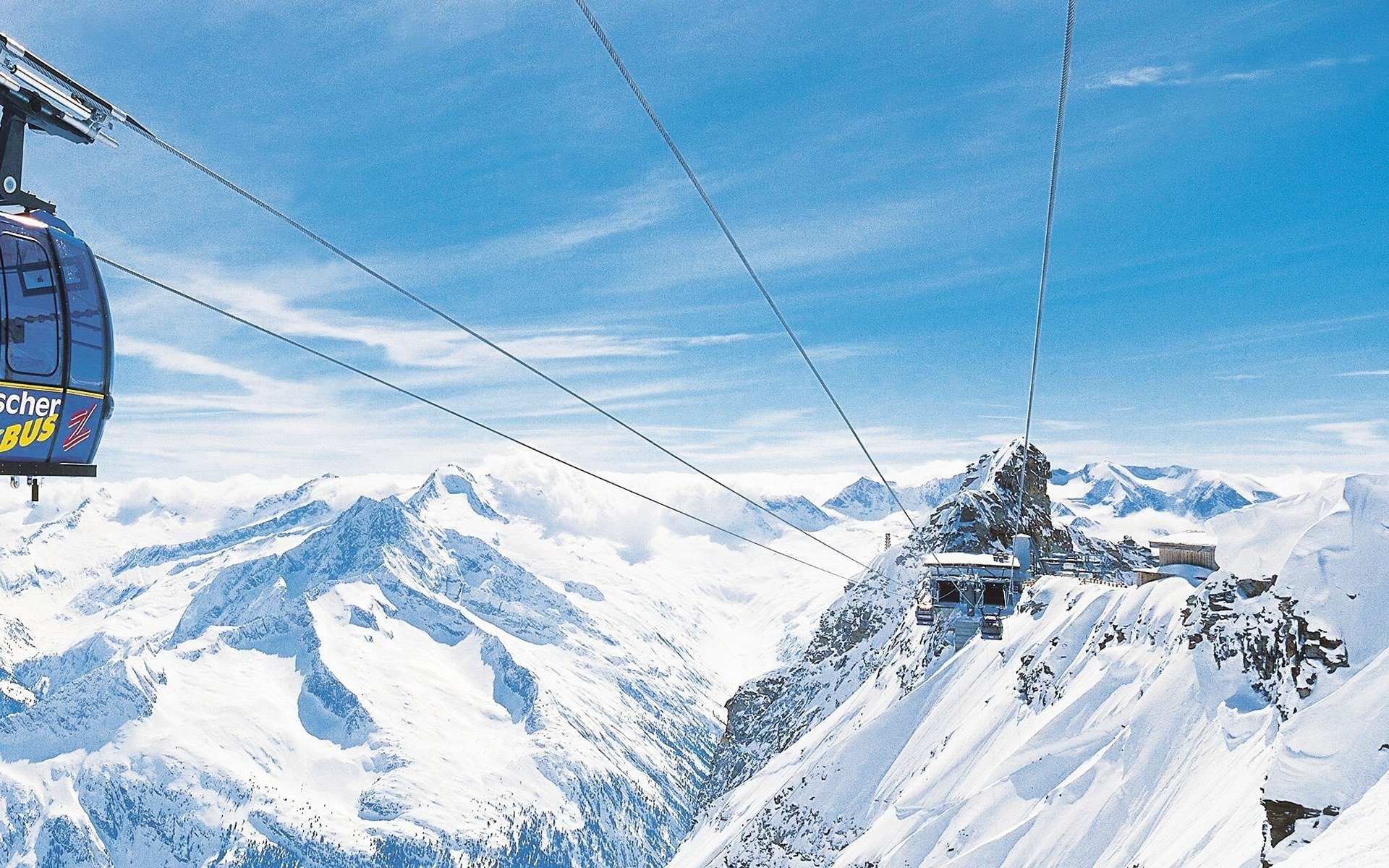 SKI LIFT skiing snowboarding winter snow mountains wallpaper 1920x1200