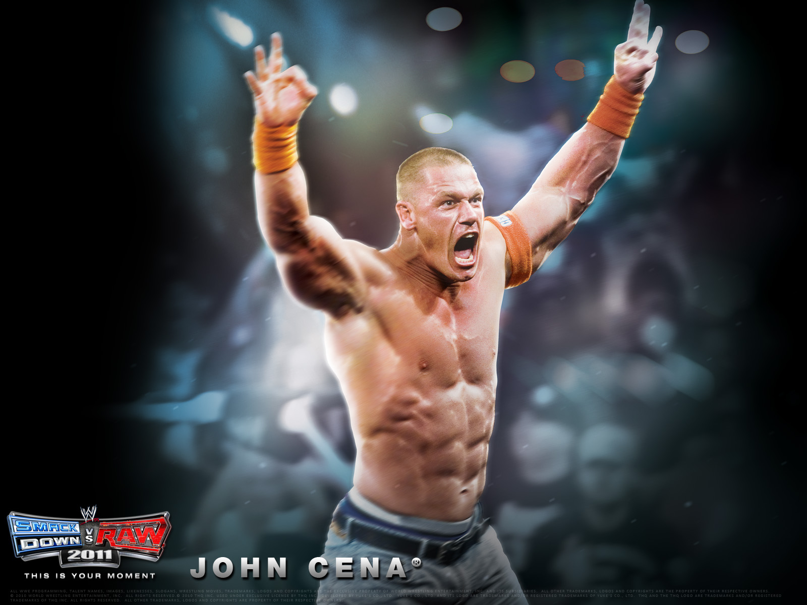 New Cool John Cena Wallpapers Soft Wallpapers 1600x1200