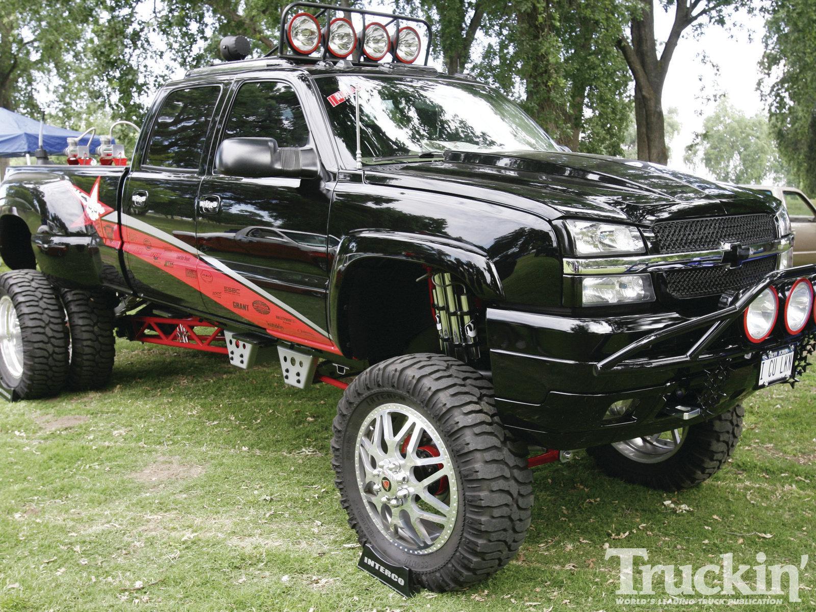 Lifted Chevy Trucks Wallpaper Wallpapersafari