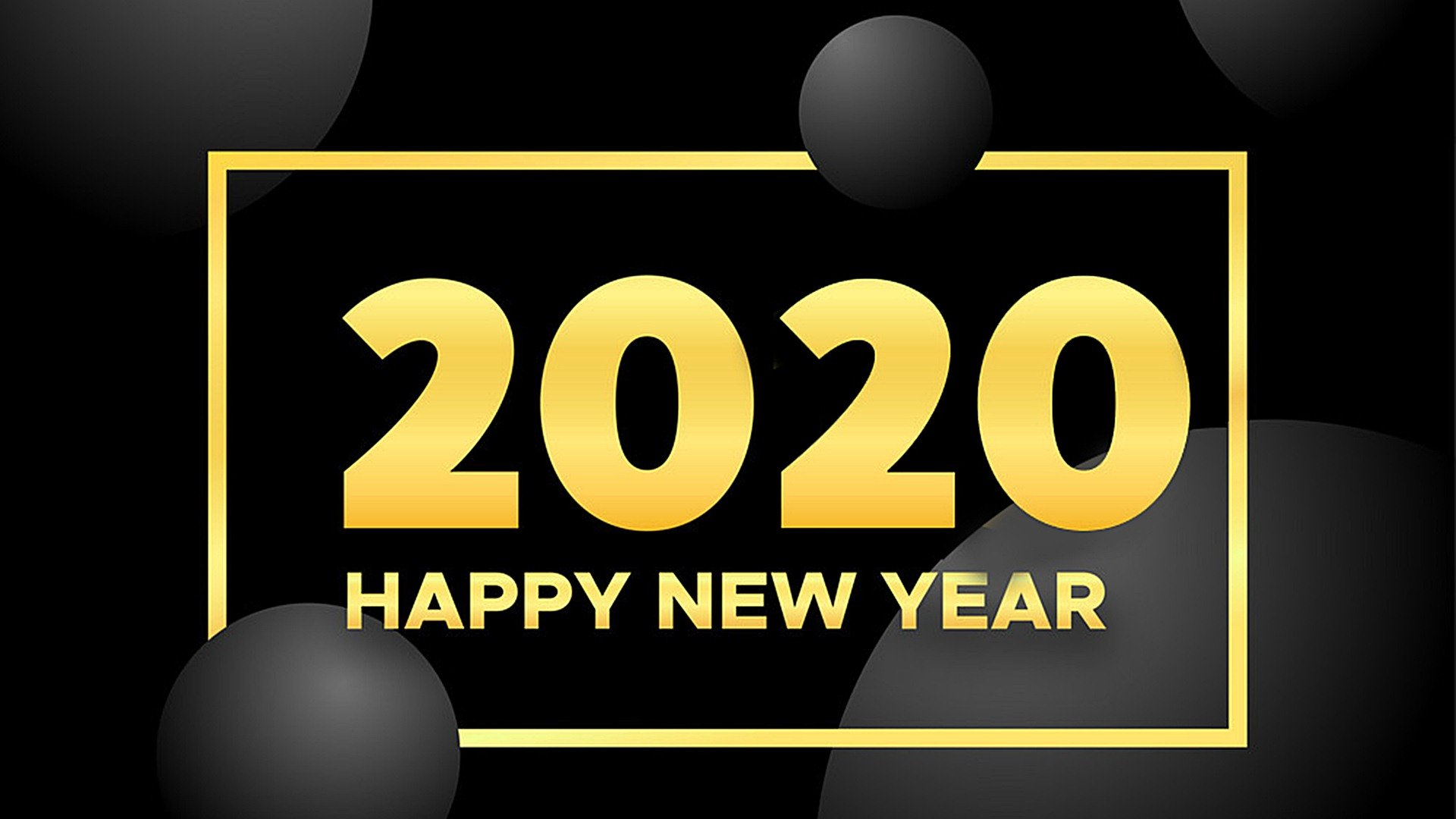 Happy New Year 2020 Background HD Wallpapers 45540   Baltana 1920x1080