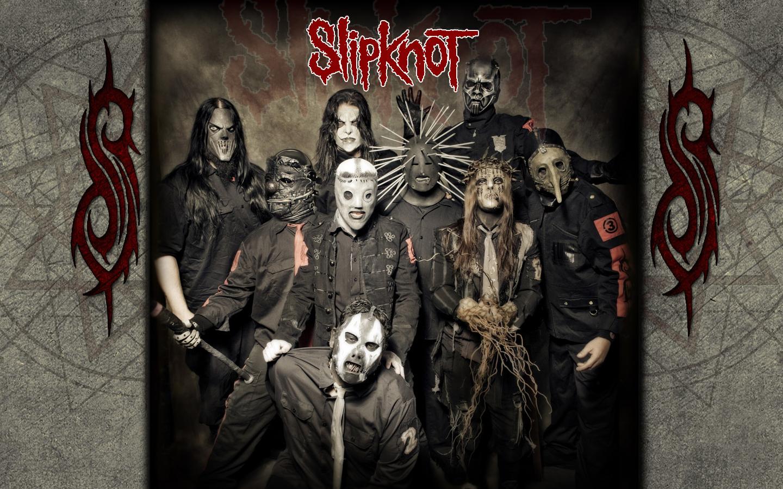 slipknot music bands desktop 1440x900 wallpaper 438460jpgpng 1440x900