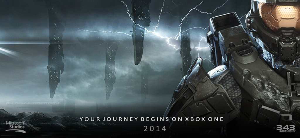 Halo On Xbox One Banner 1 by DANYVADERDAY 1024x473