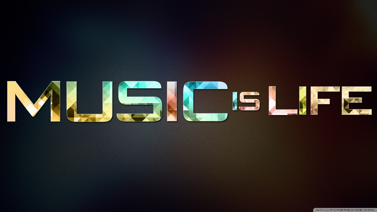music is life 2 wallpaper 1280x720 1280x720