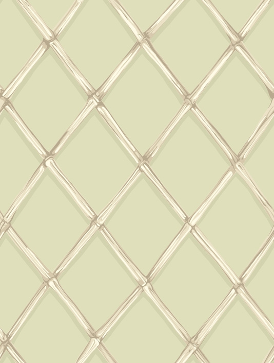 Wallpaper A great bamboo trellis wallpaper in beiges and white 534x705