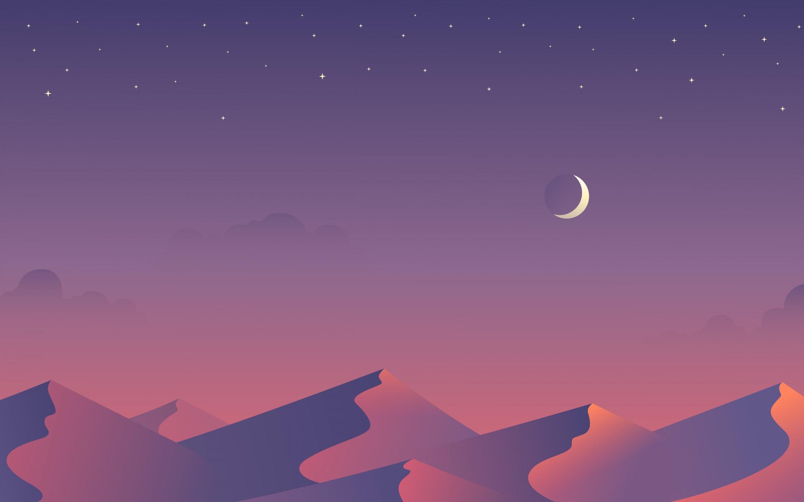 Night Illustration HD Wallpapers   Top Night Illustration HD 2560x1600