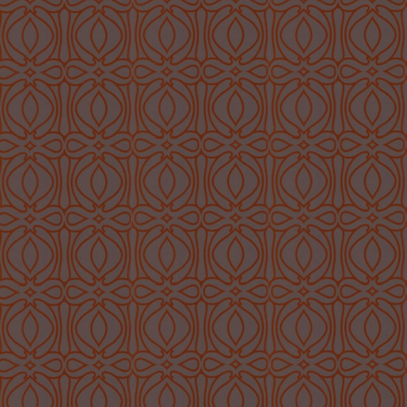 Baroque   Orange Swatch   Contemporary   Wallpaper   by Design Public 585x586