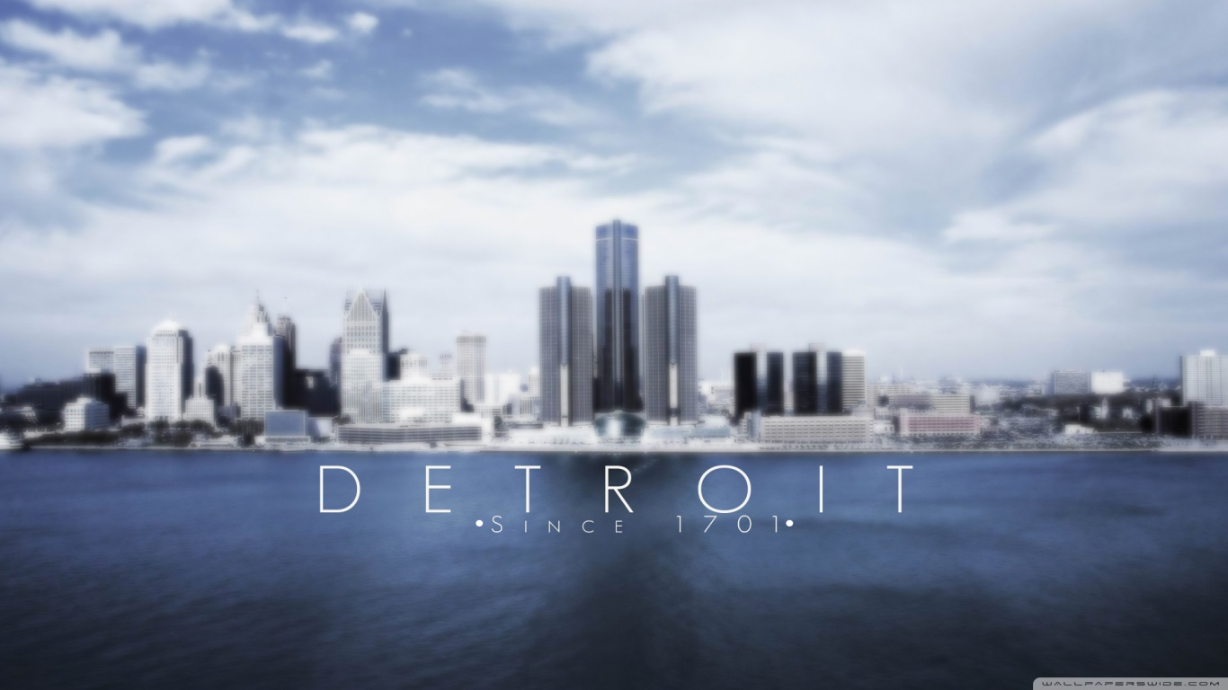 Detroit 4K HD Desktop Wallpaper for 4K Ultra HD TV Wide 1366x768