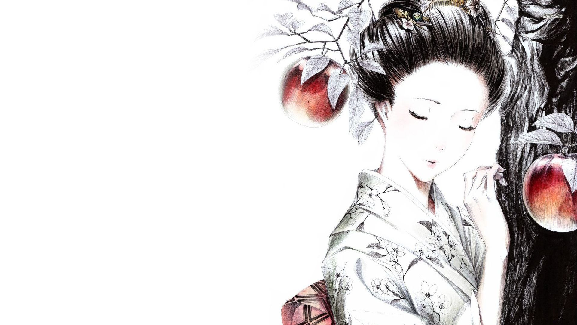 Geisha wallpaper   Artistic wallpapers   16853 1920x1080