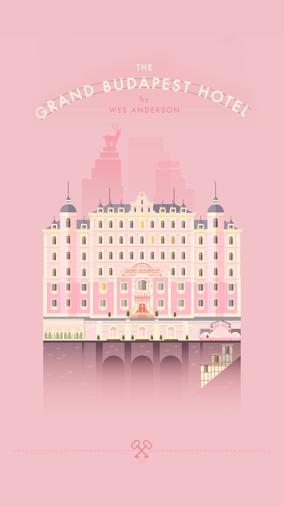 Grand Budapest Hotel iPhone 8 Wallpapers 1080x1920