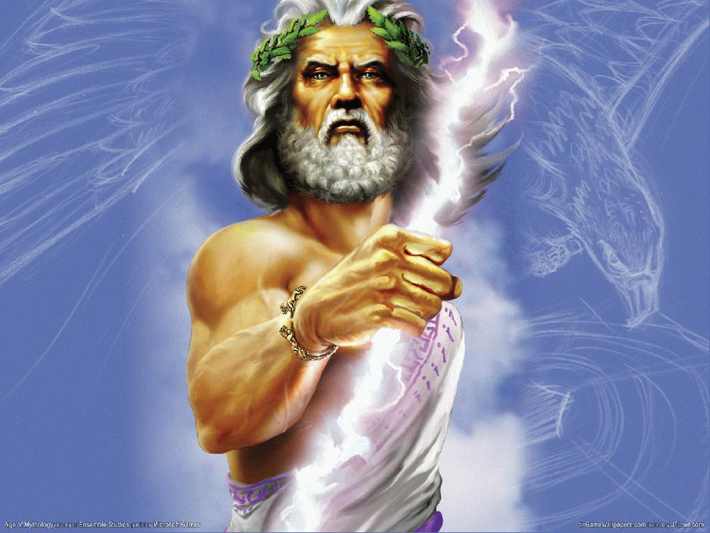 Zeus   Greek Mythology Wallpaper 687267 1024x768