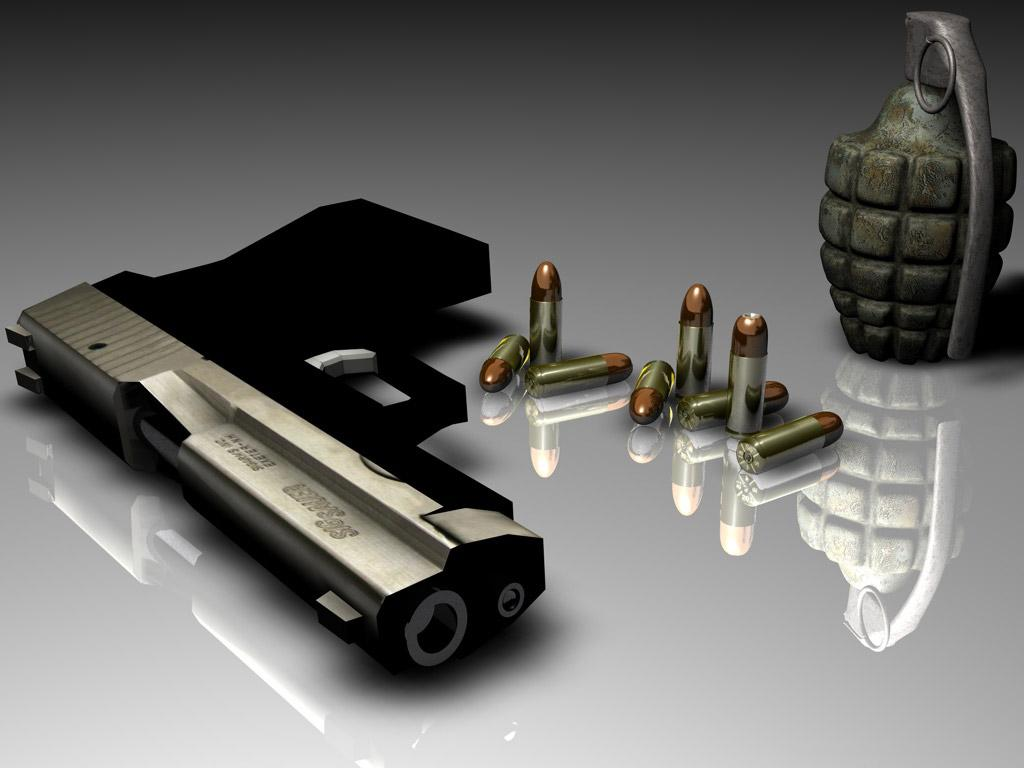Best HD Guns Wallpapers For Desktop Techno Park 1024x768