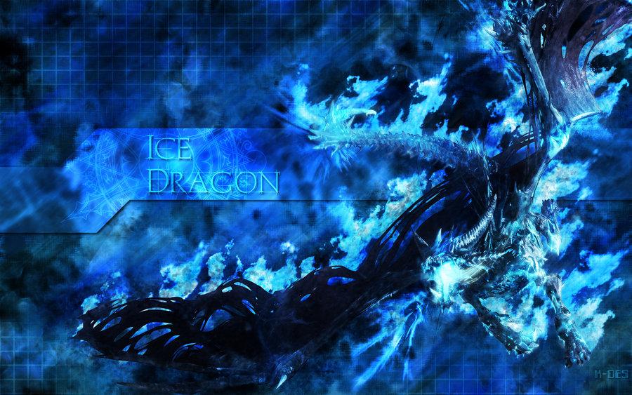 Ice Dragon Wallpaper by RenlarZ 900x563