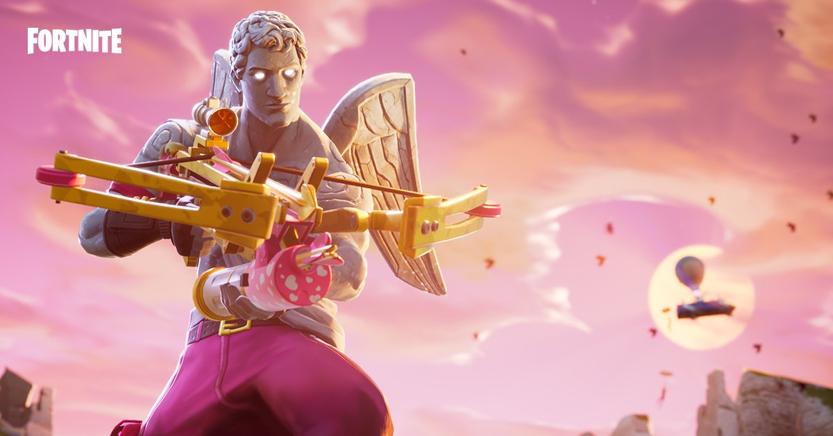 Fortnite on Twitter Shower your enemies in love or crossbow 1200x628