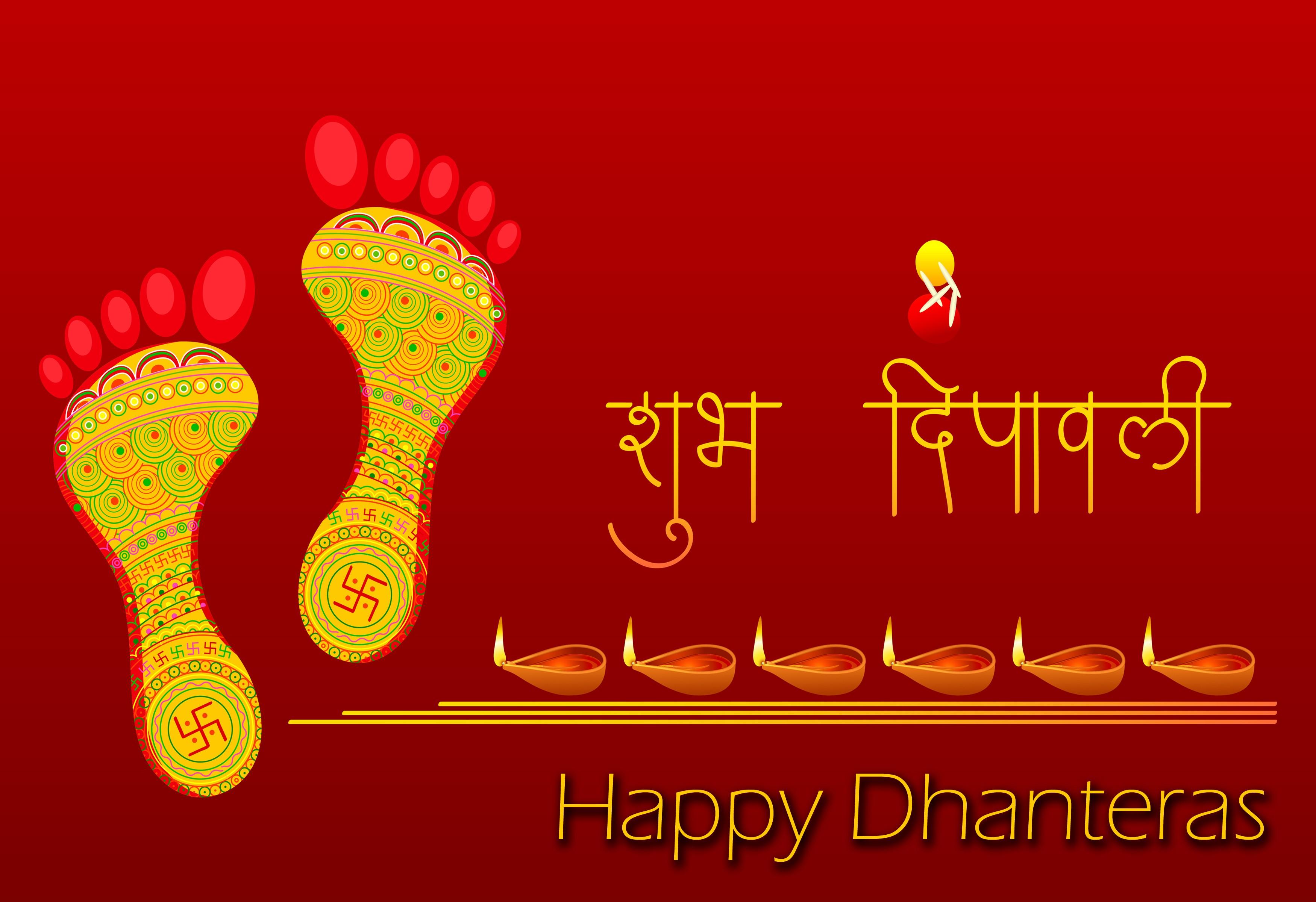 Happy Dhanteras HD Wallpaper 2015 3500x2400