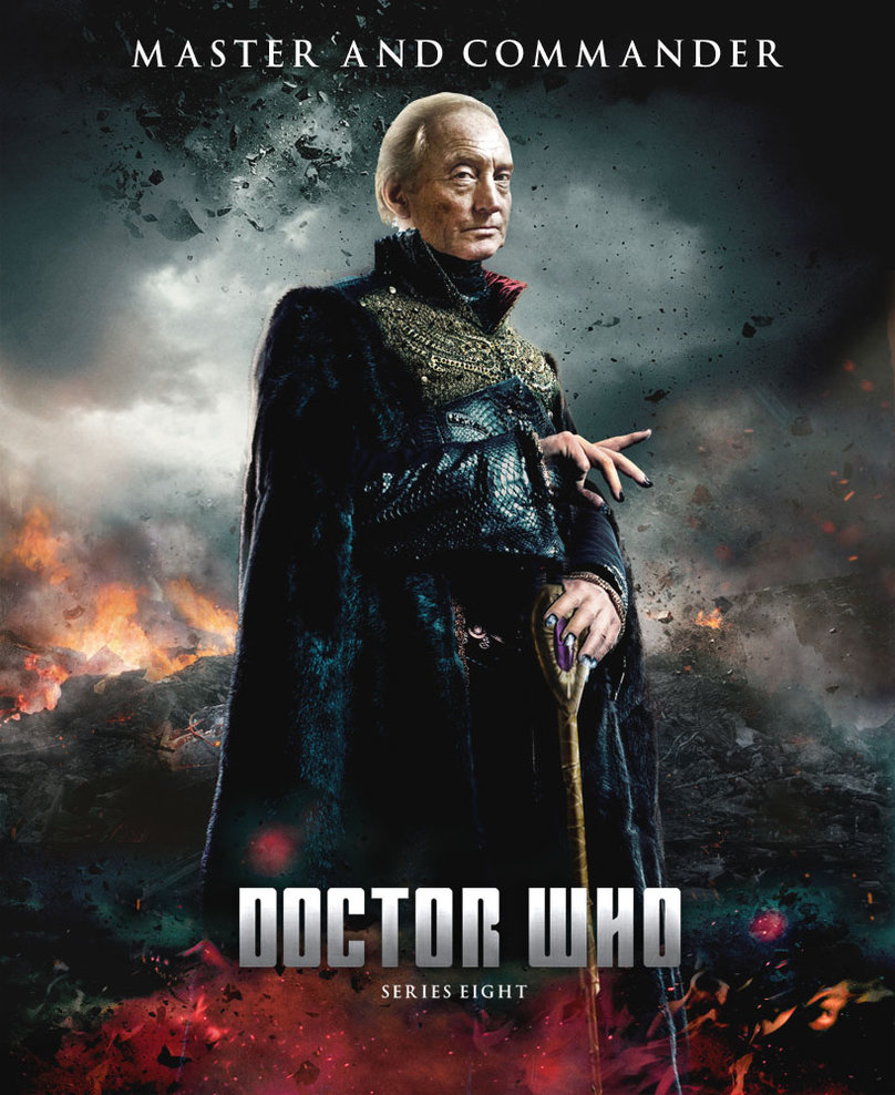 DOCTOR WHO SERIES 8 POSTER   THE MASTER RETURNS by Umbridge1986 on 808x988