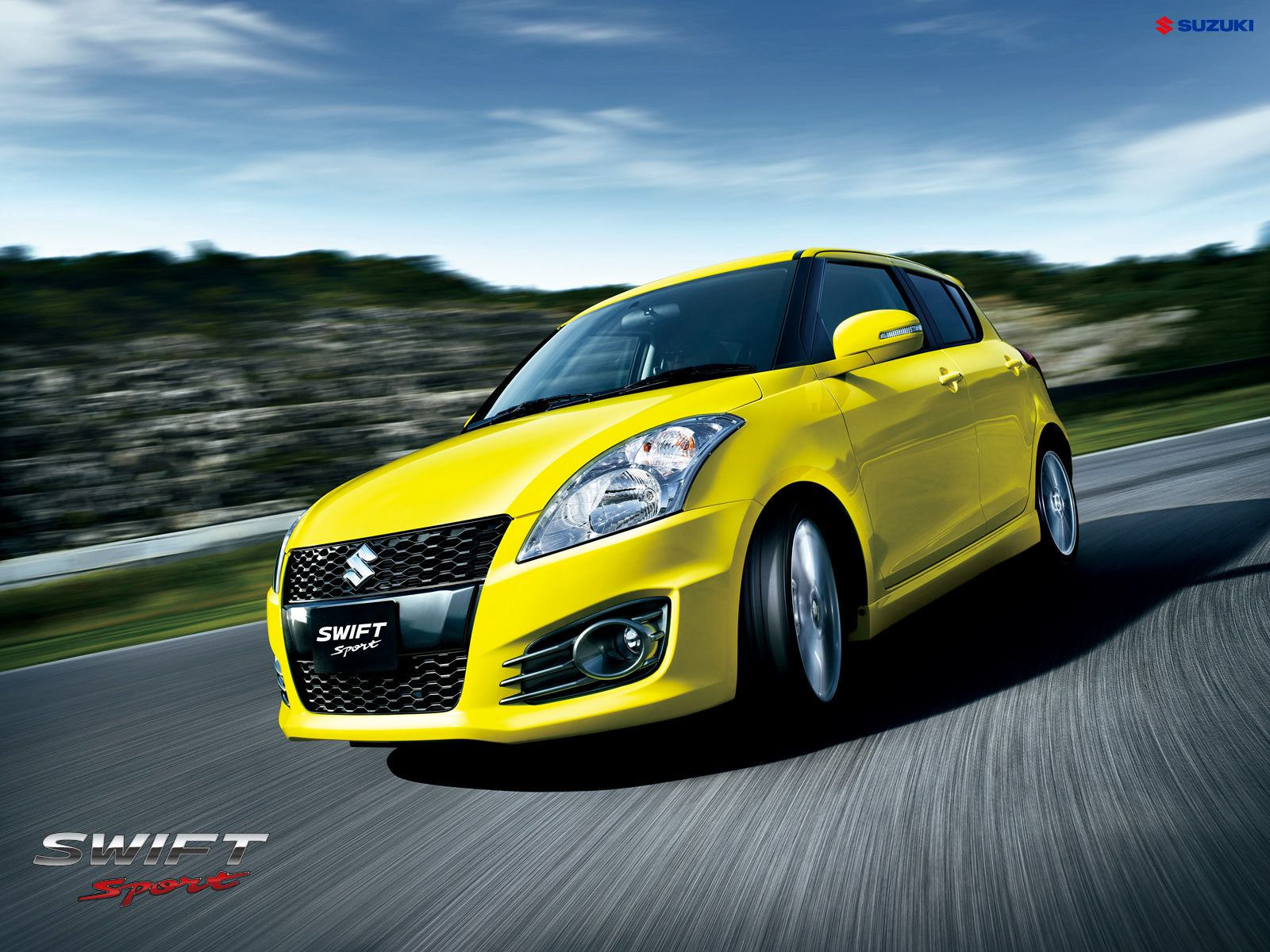 Suzuki Swift Sport wallpaper With a blistering new design 1600x1200
