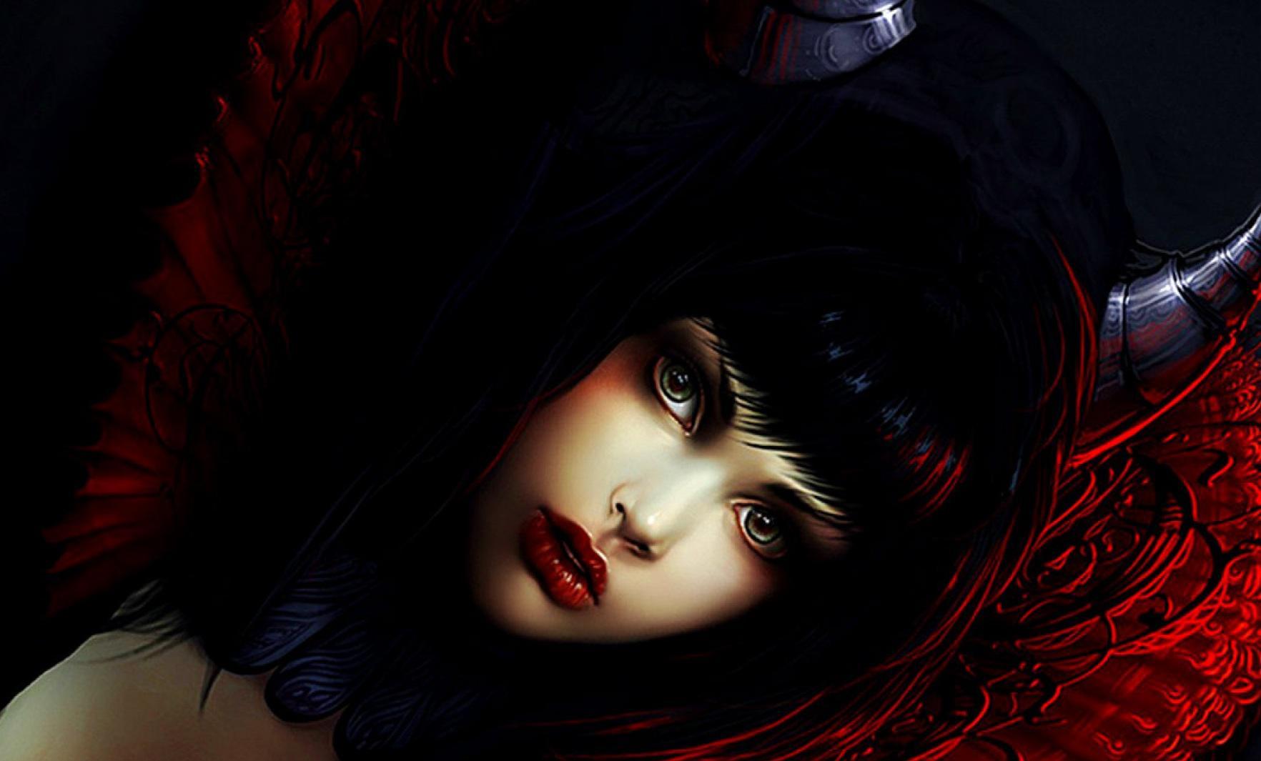 Devil Girl Wallpaper - WallpaperSafari