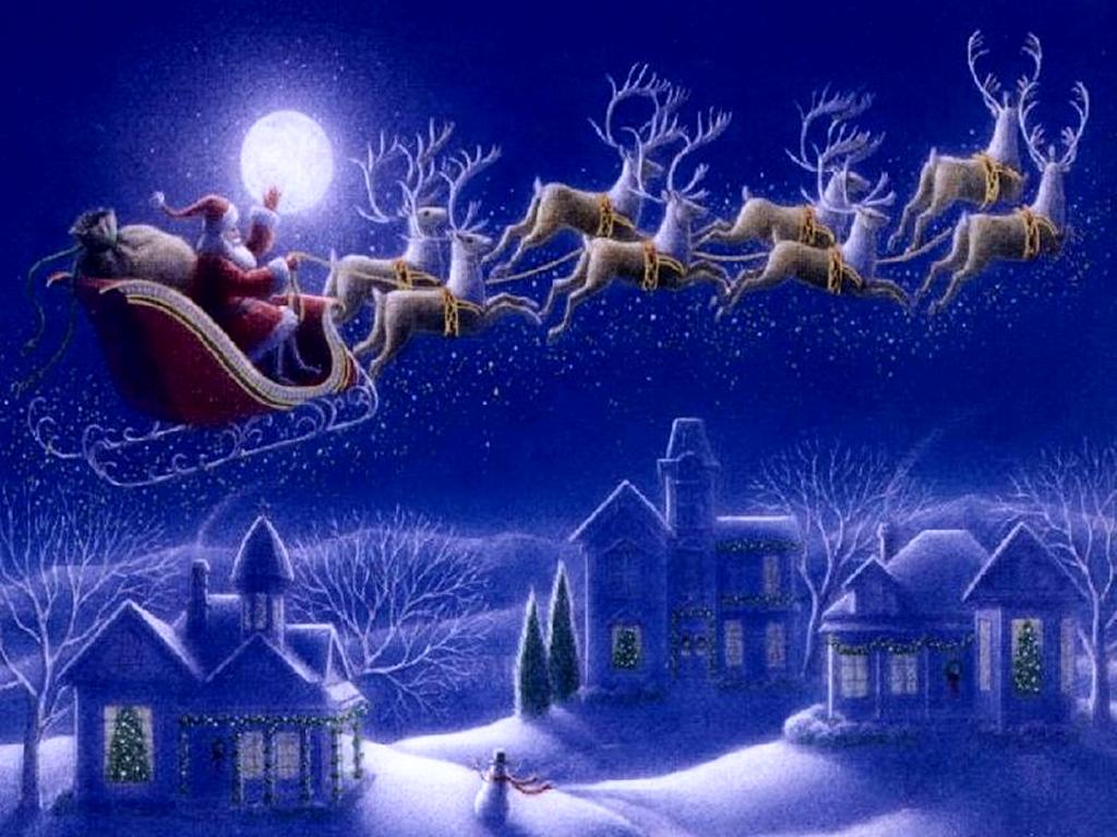 Christmas Sky Wallpaper   Christian Wallpapers and Backgrounds 1024x768