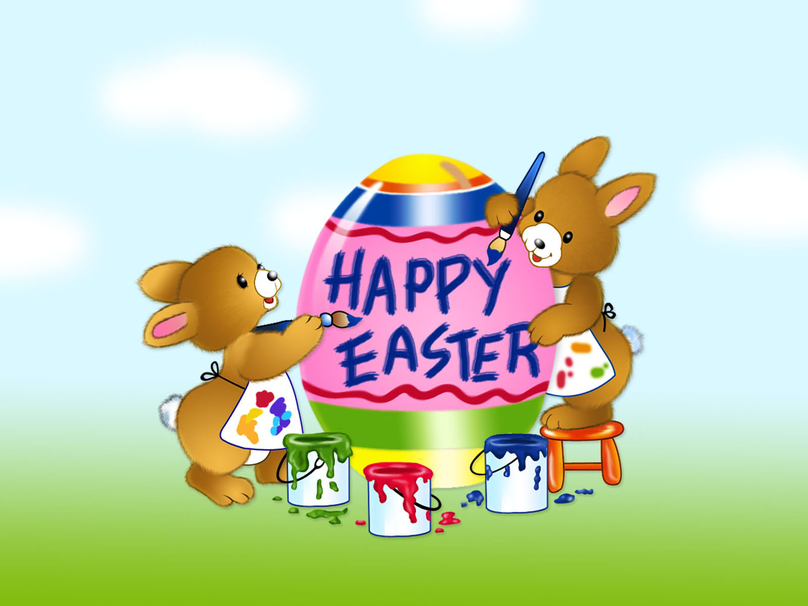 Happy Holiday Happy Easter 2011 1600x1200