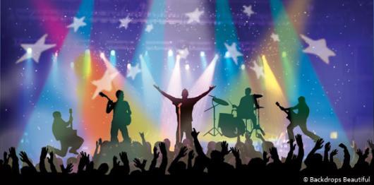Rock Concert Backdrop 2 Backdrops Beautiful 530x262