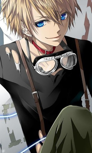 View bigger   Cute Boy Anime Wallpaper for Android screenshot 307x512