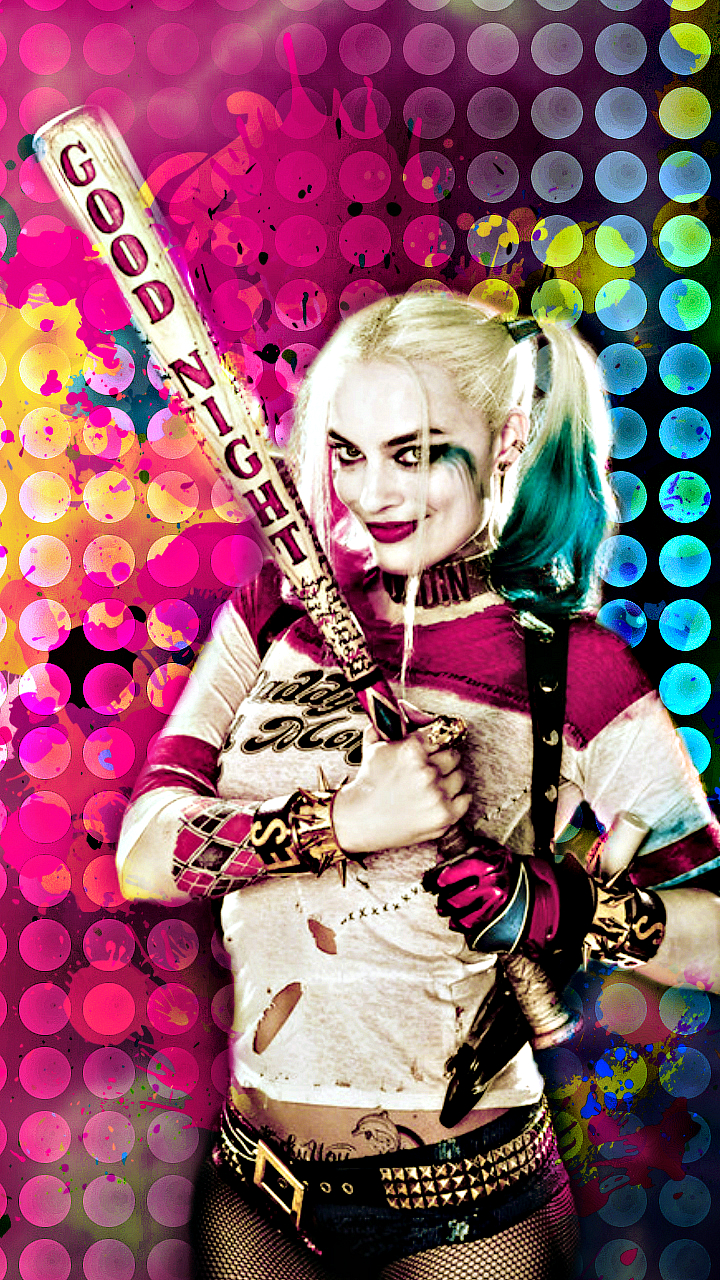 Phone and PC wallpapers made by me   Suicide Squad Wallpaper 720x1280