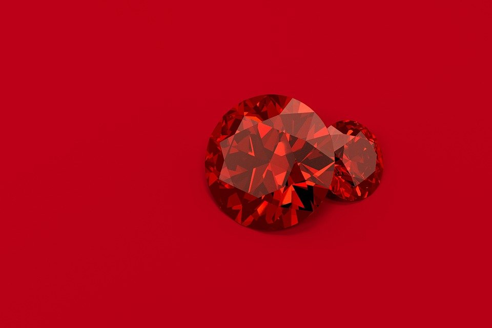 Rubies Diamonds Gemstone   image on Pixabay 960x640