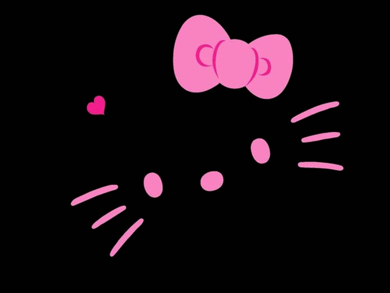 77 ] Hello Kitty Wallpaper Black On WallpaperSafari