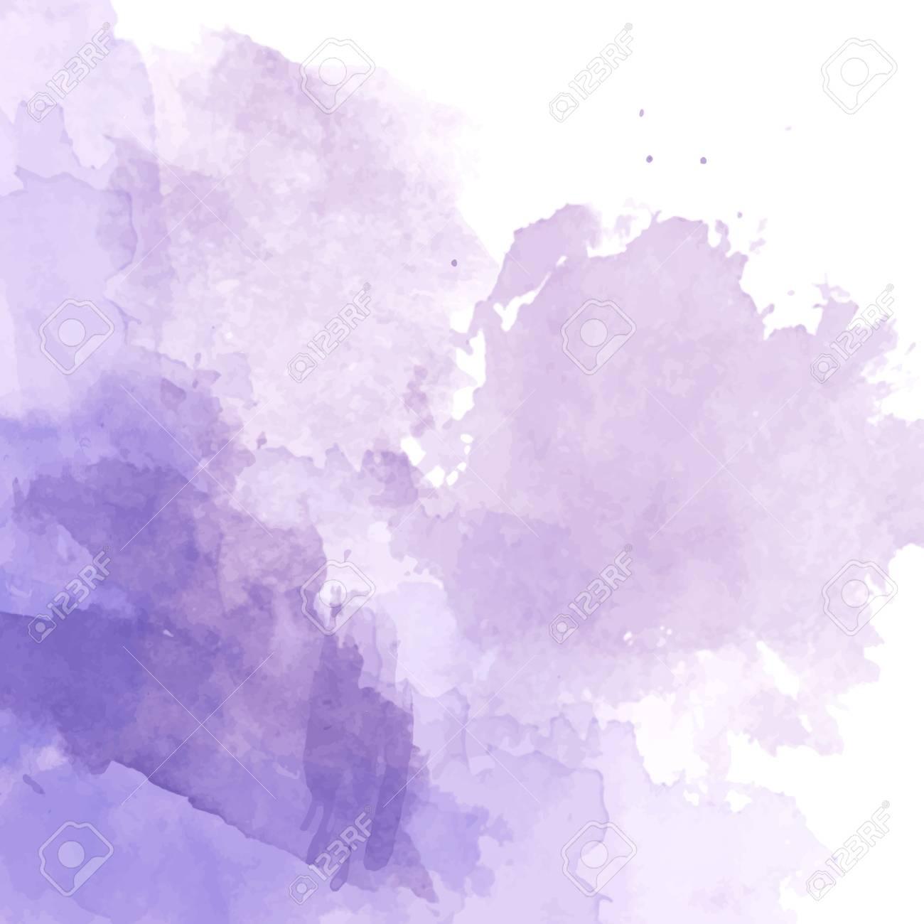 Violet Watercolor Background Vector Royalty Cliparts Vectors 1300x1300