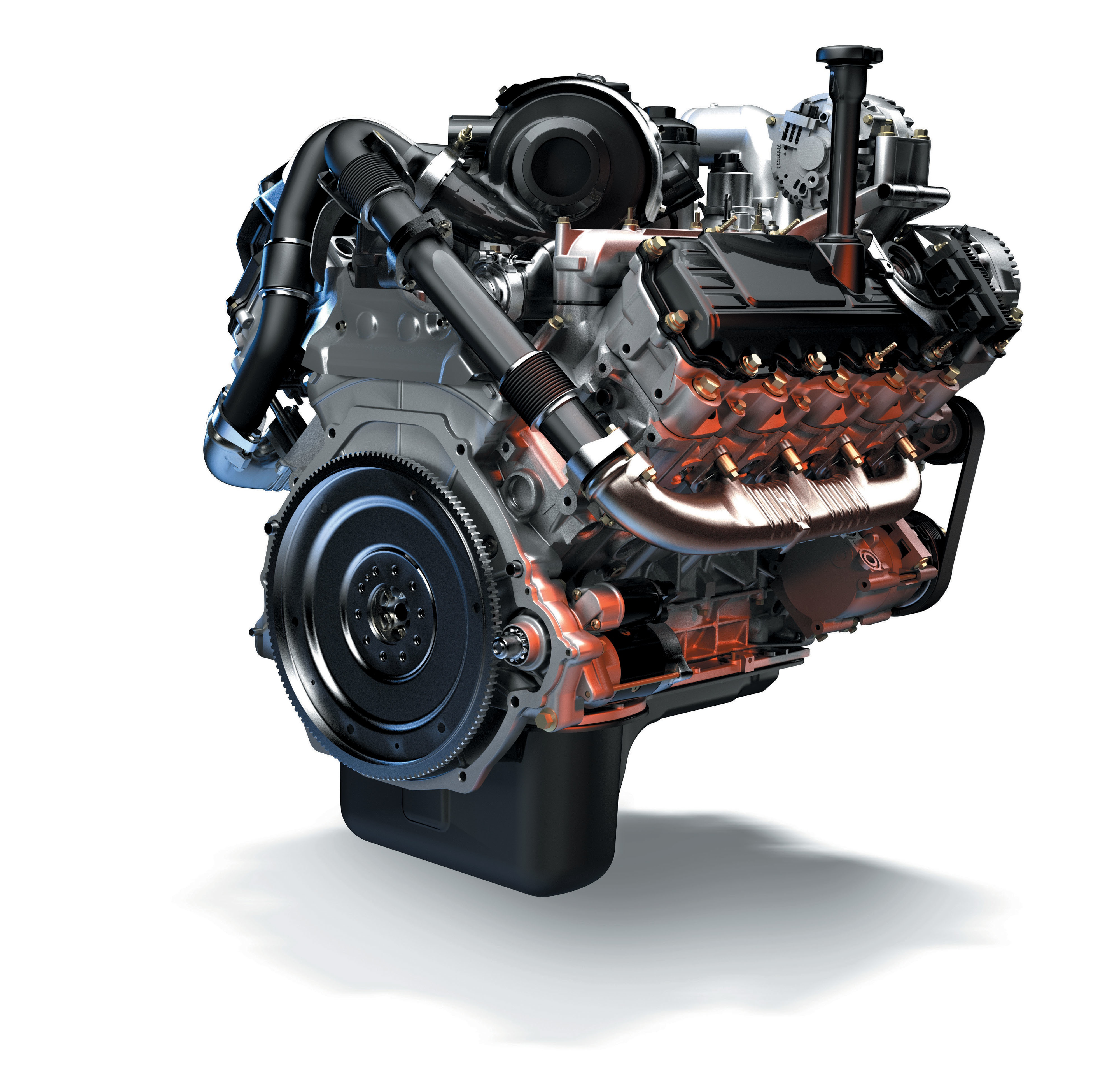 Ford Powerstroke 73 Logo The fordnavistar power stroke 4000x3826