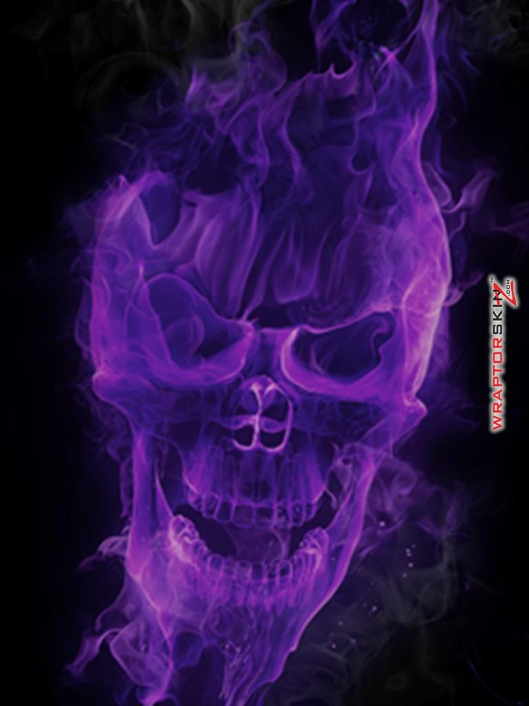Purple Skull Wallpaper - WallpaperSafari