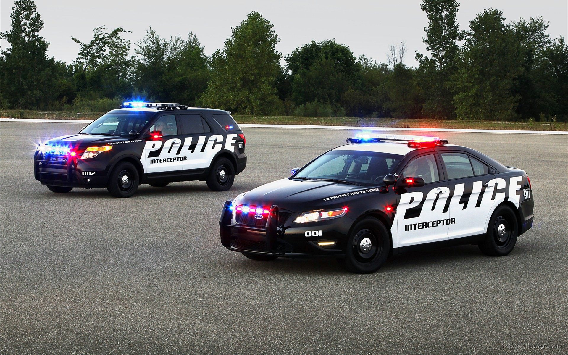 2011 Ford Police Interceptor SUV 2 Wallpaper HD Car Wallpapers 1920x1200