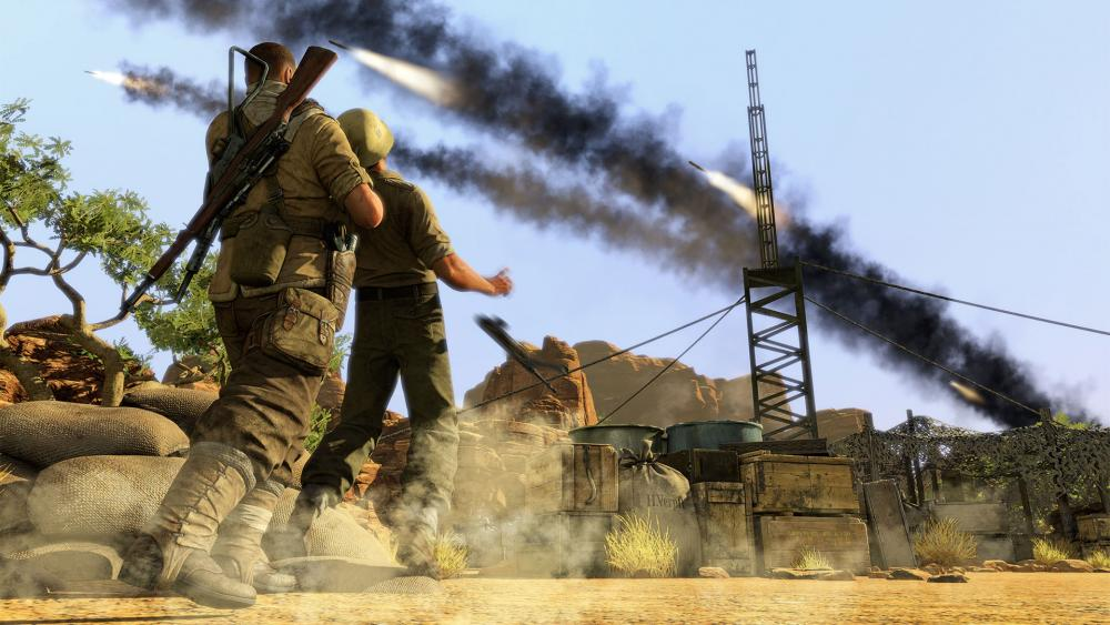 Sniper Elite 3 Wallpapers Screenshots 1000x563