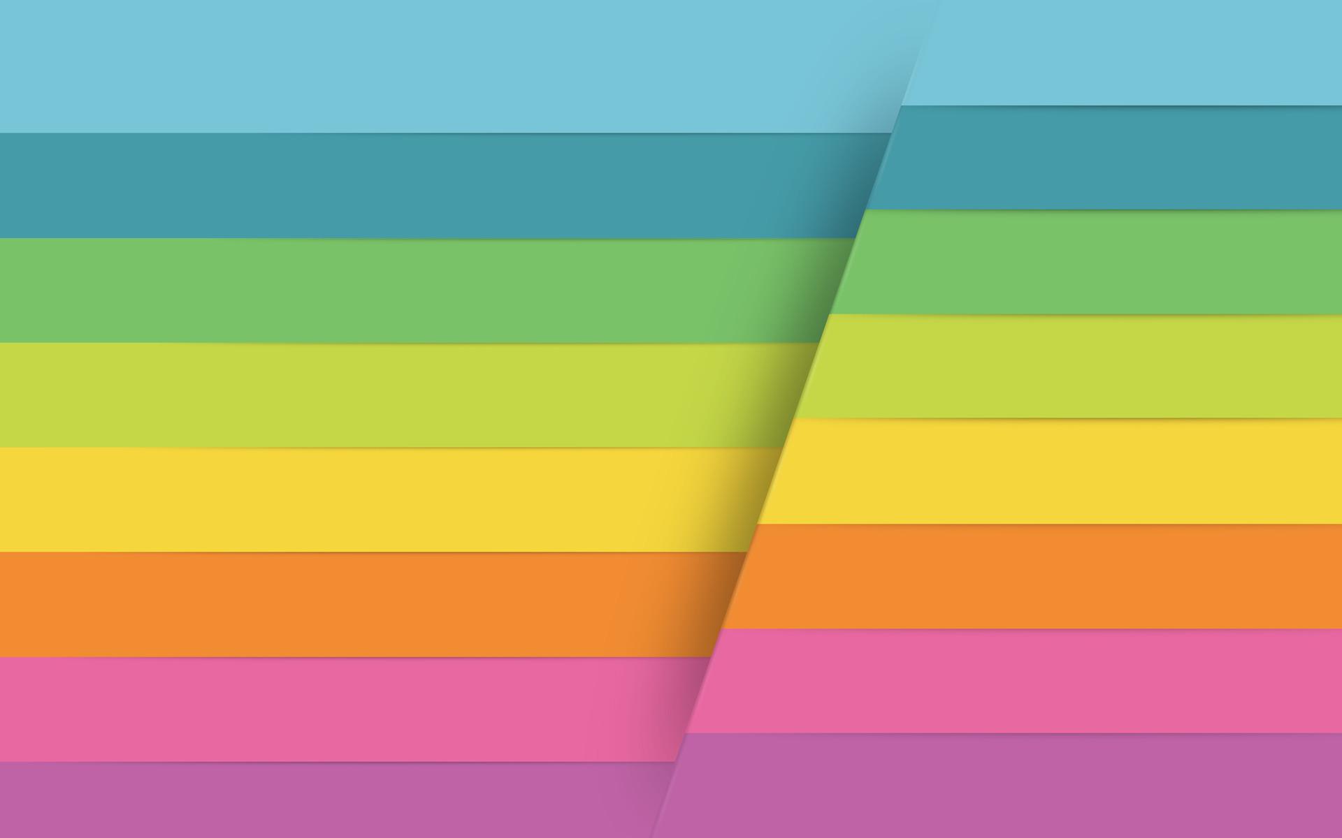 Colorful Horizontal Stripes Wallpaper 8810 1920 x 1200 1920x1200