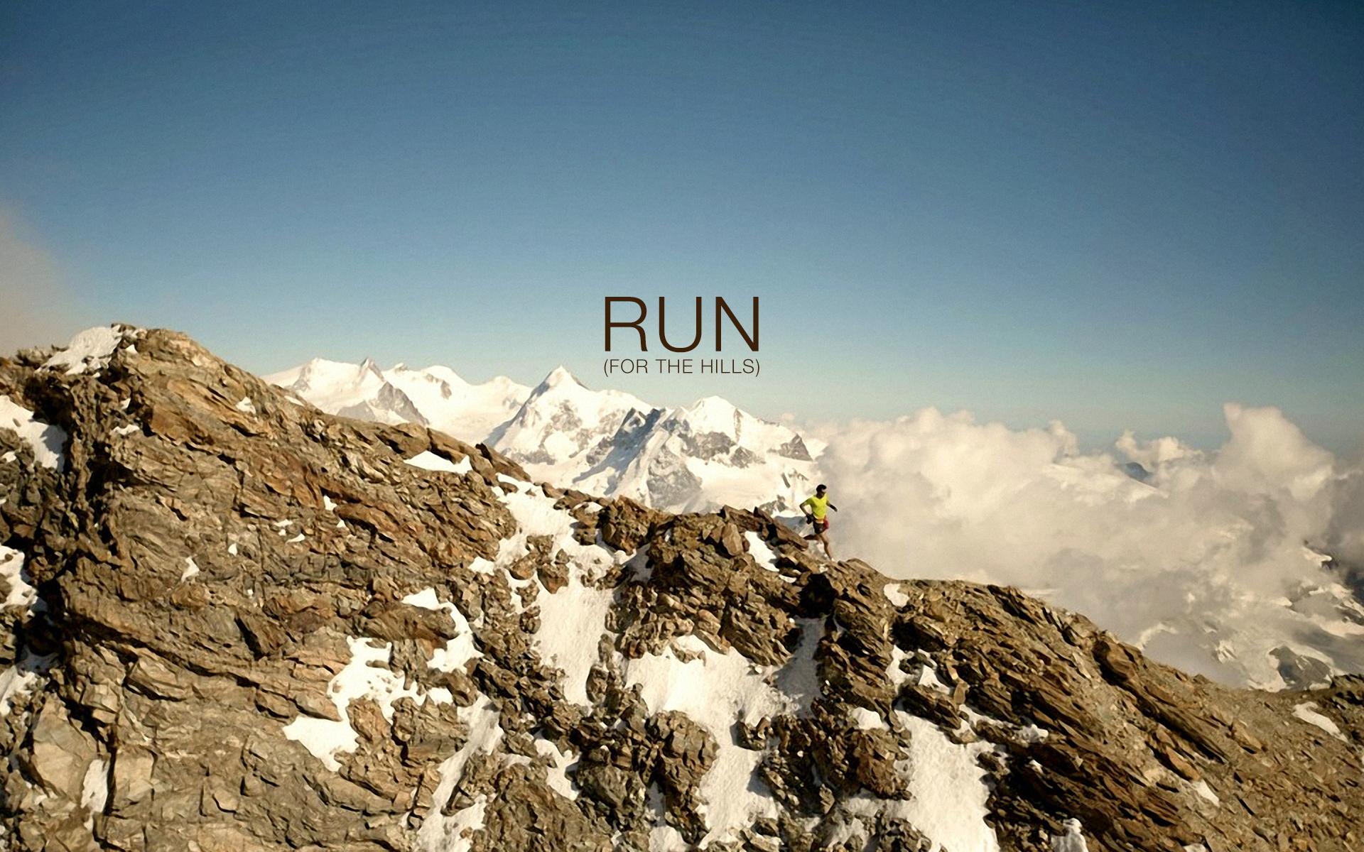Nike Running Wallpaper Iphone Run for the hills 1610 1920x1200