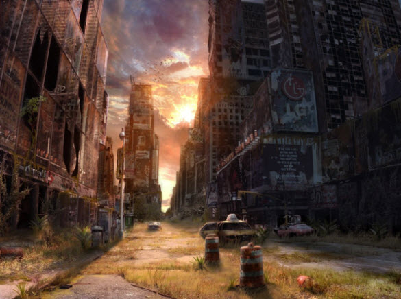 Best WallPapers Destroyed City HD Wallpapers 585x436