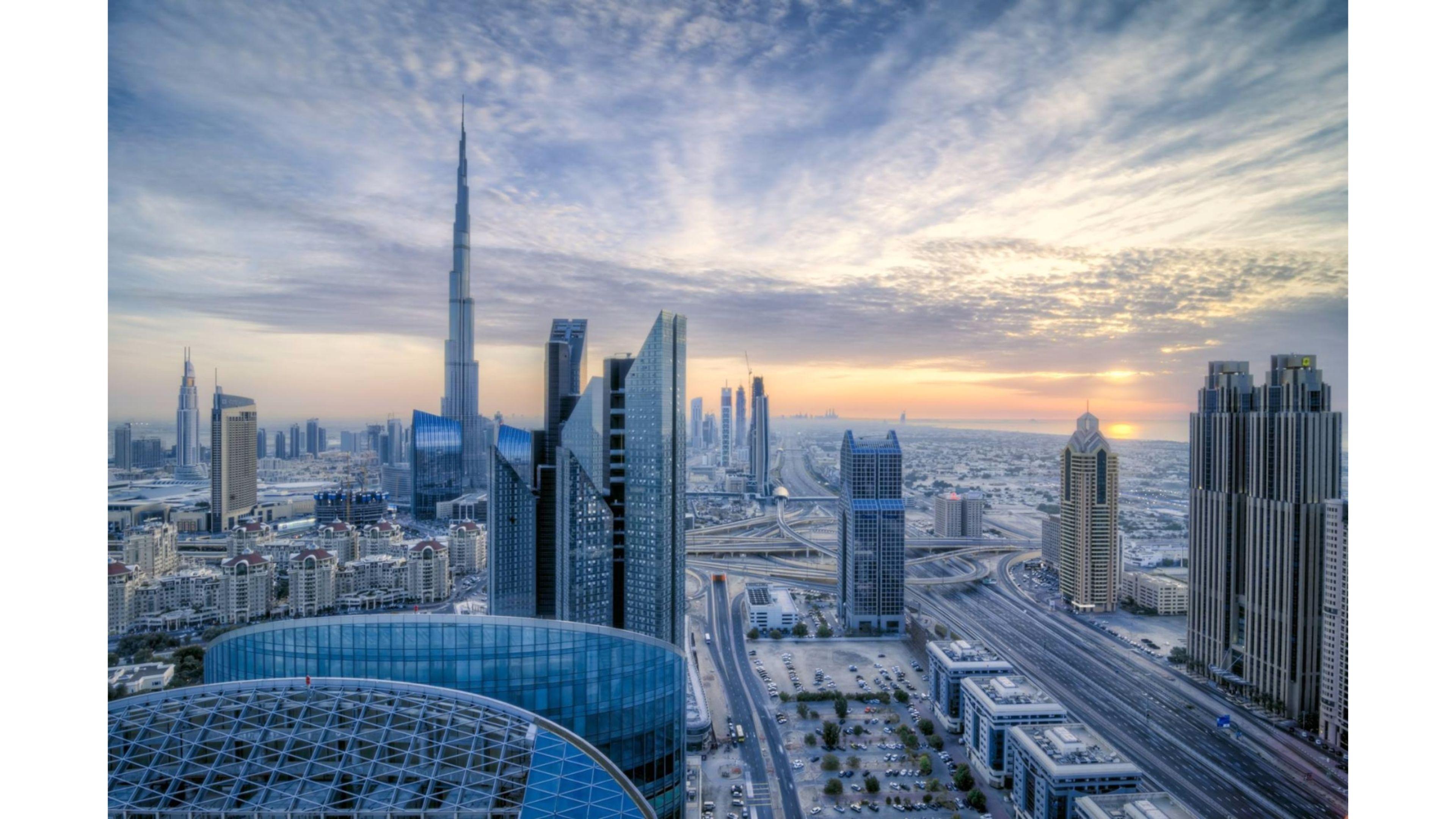 United Arab Emirates Dubai 4K Wallpaper   Tamani Properties 3840x2160