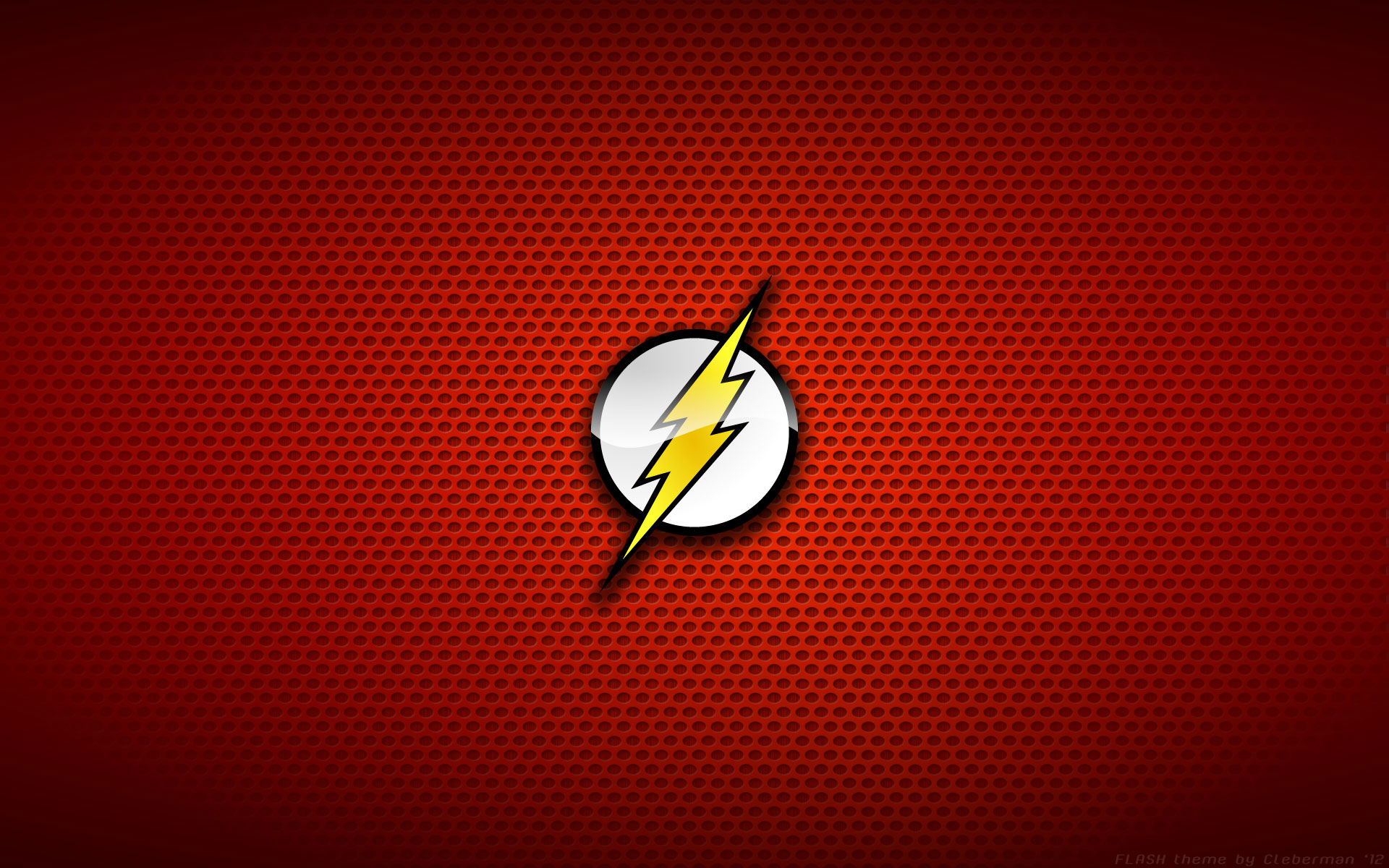 the flash logo wallpaperjpg 1920x1200