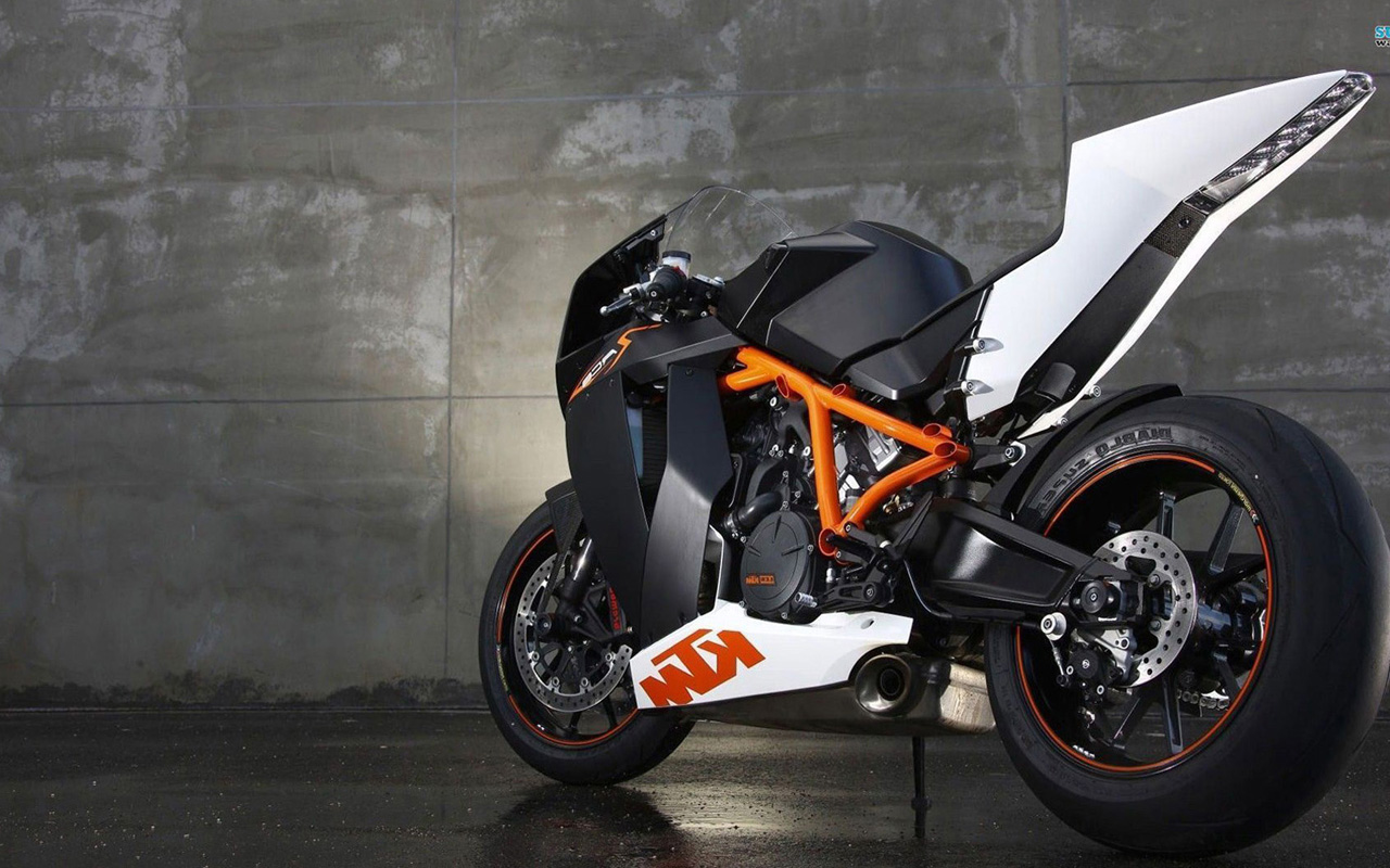 KTM RC8 logo wallpapers HD Wallpaper Downloads 1280x800