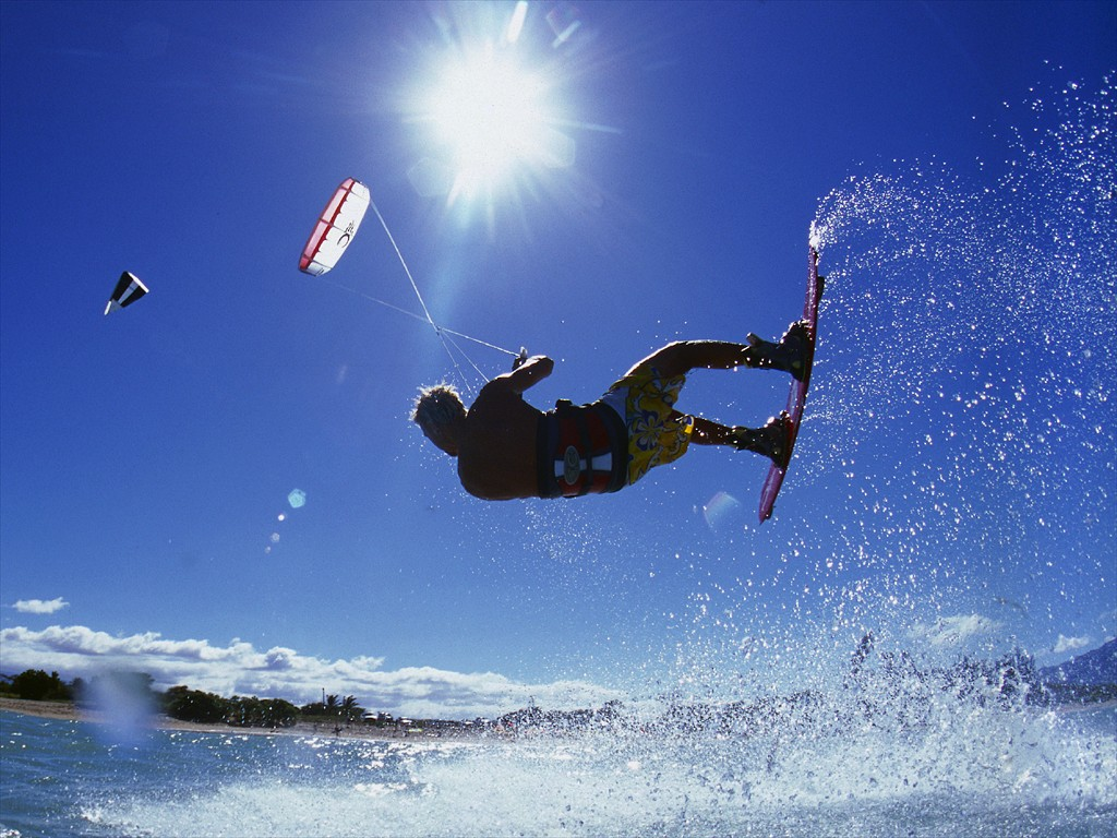 kitesurf wallpaper 1024x768