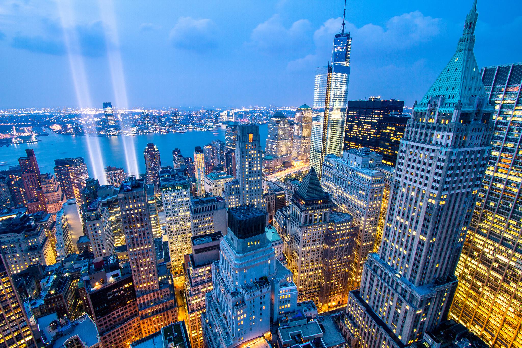 New York Skyline Wallpaper Creative New York Skyline 2048x1365