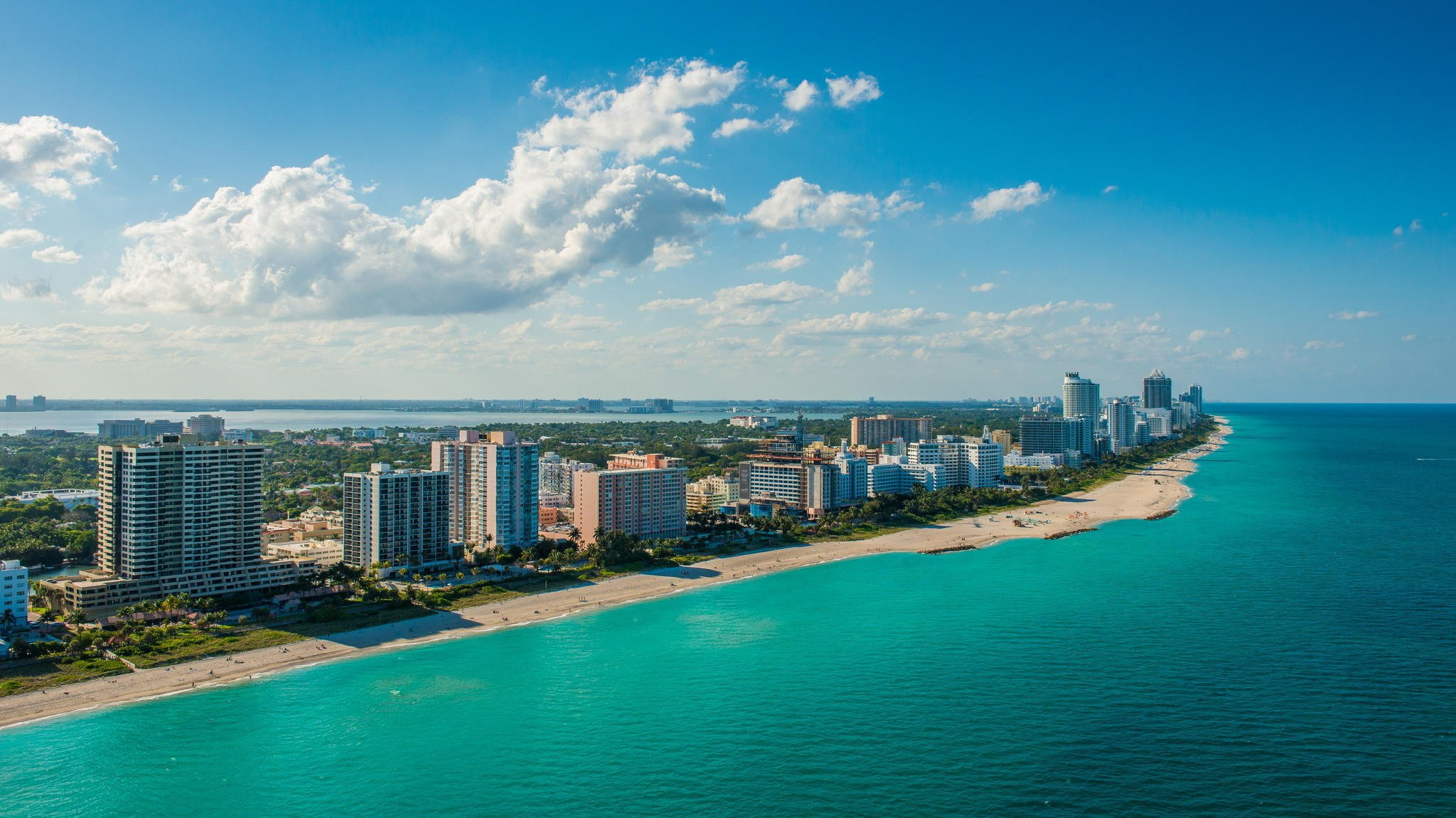 48 Miami Beach Desktop Wallpaper On Wallpapersafari