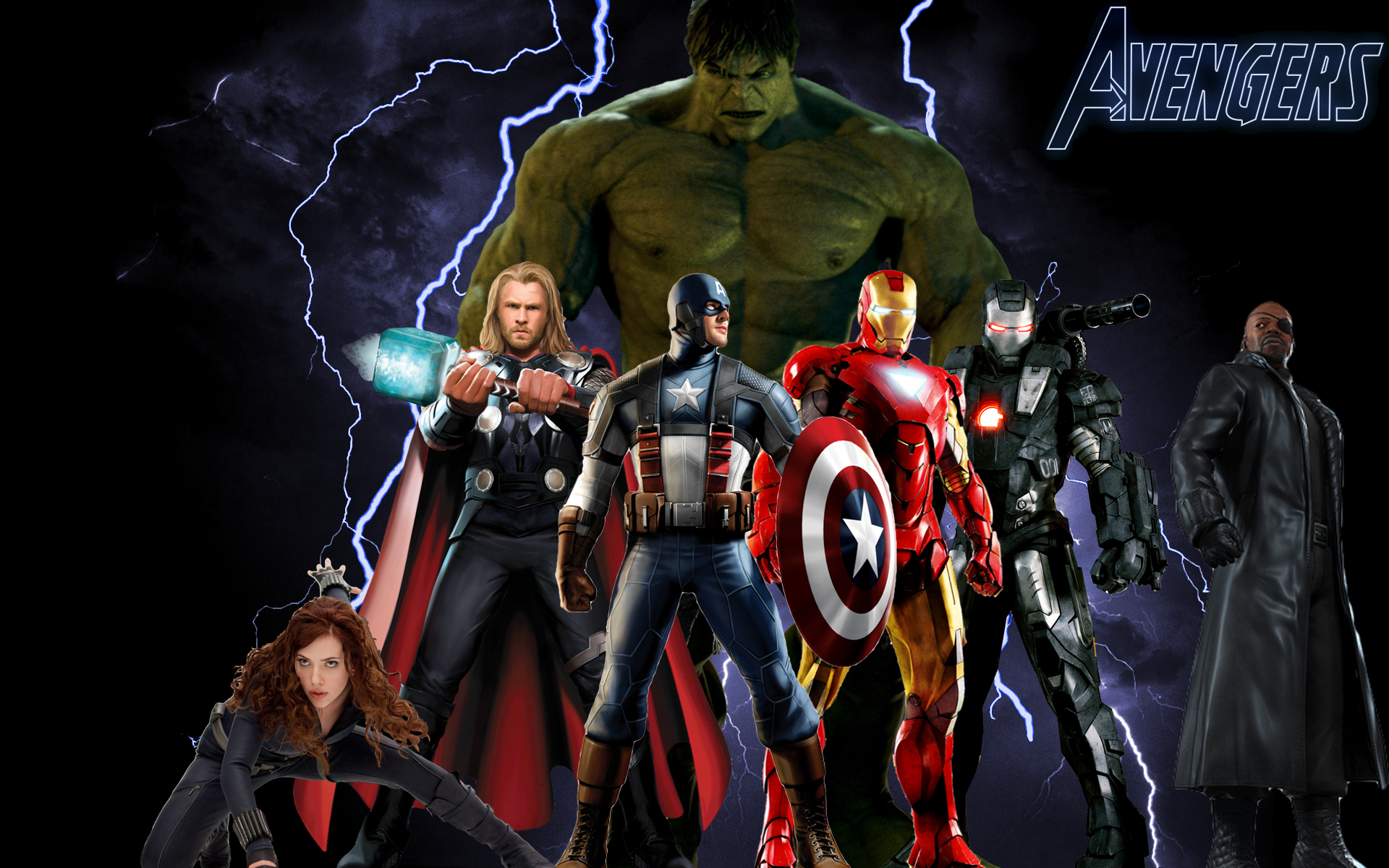 Avengers desktop   The Avengers Fan Art 12873866 1920x1200