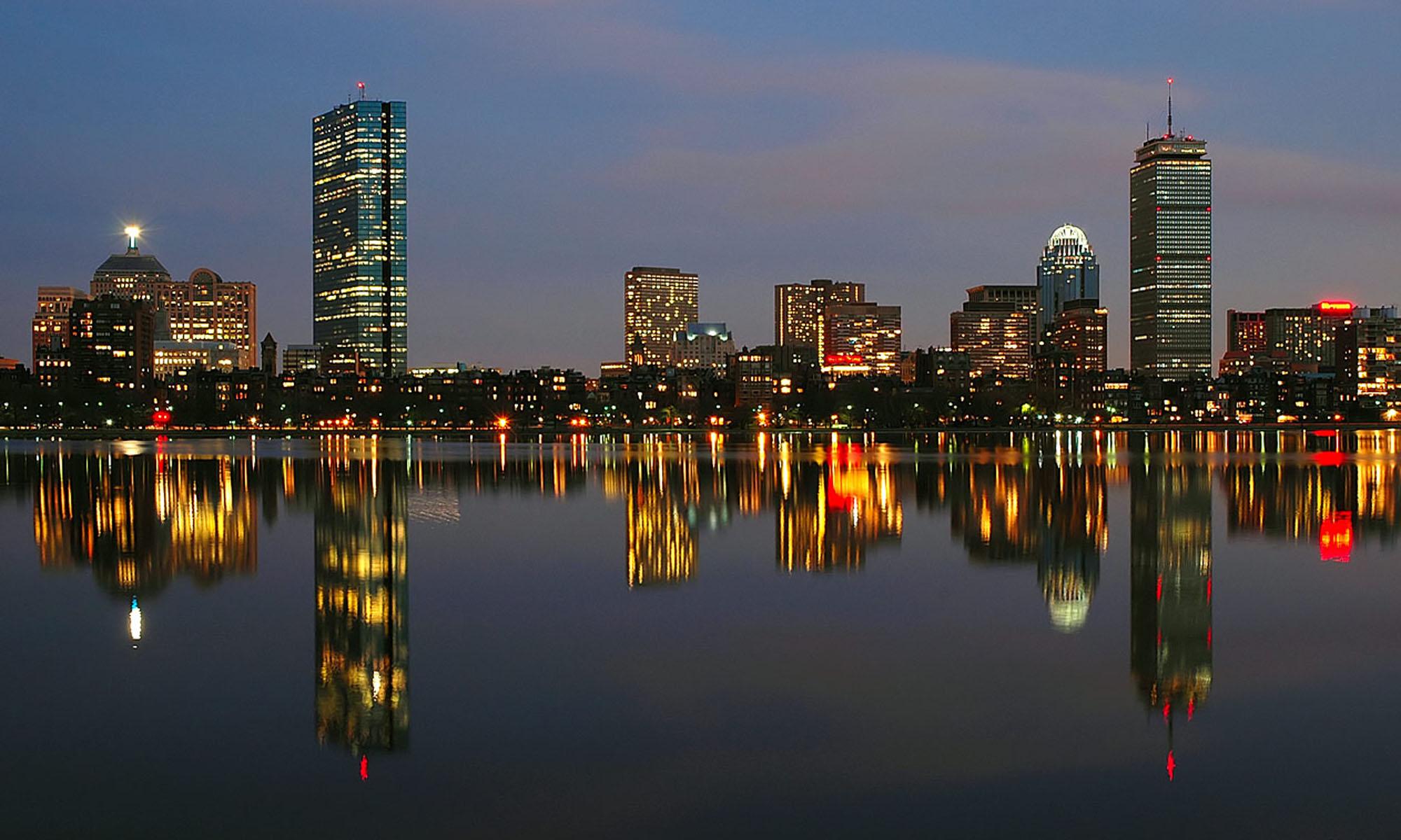 Boston Cityscape HD Wallpaper Travel Wallpapers 2000x1200