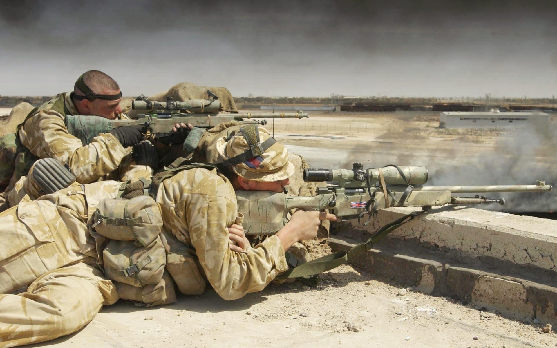 Military Snipers desktop wallpaper 1920x1200