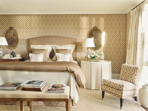 Bedroom Wallpaper Wallpaper Borders Affordable Tasteful Room 500x375