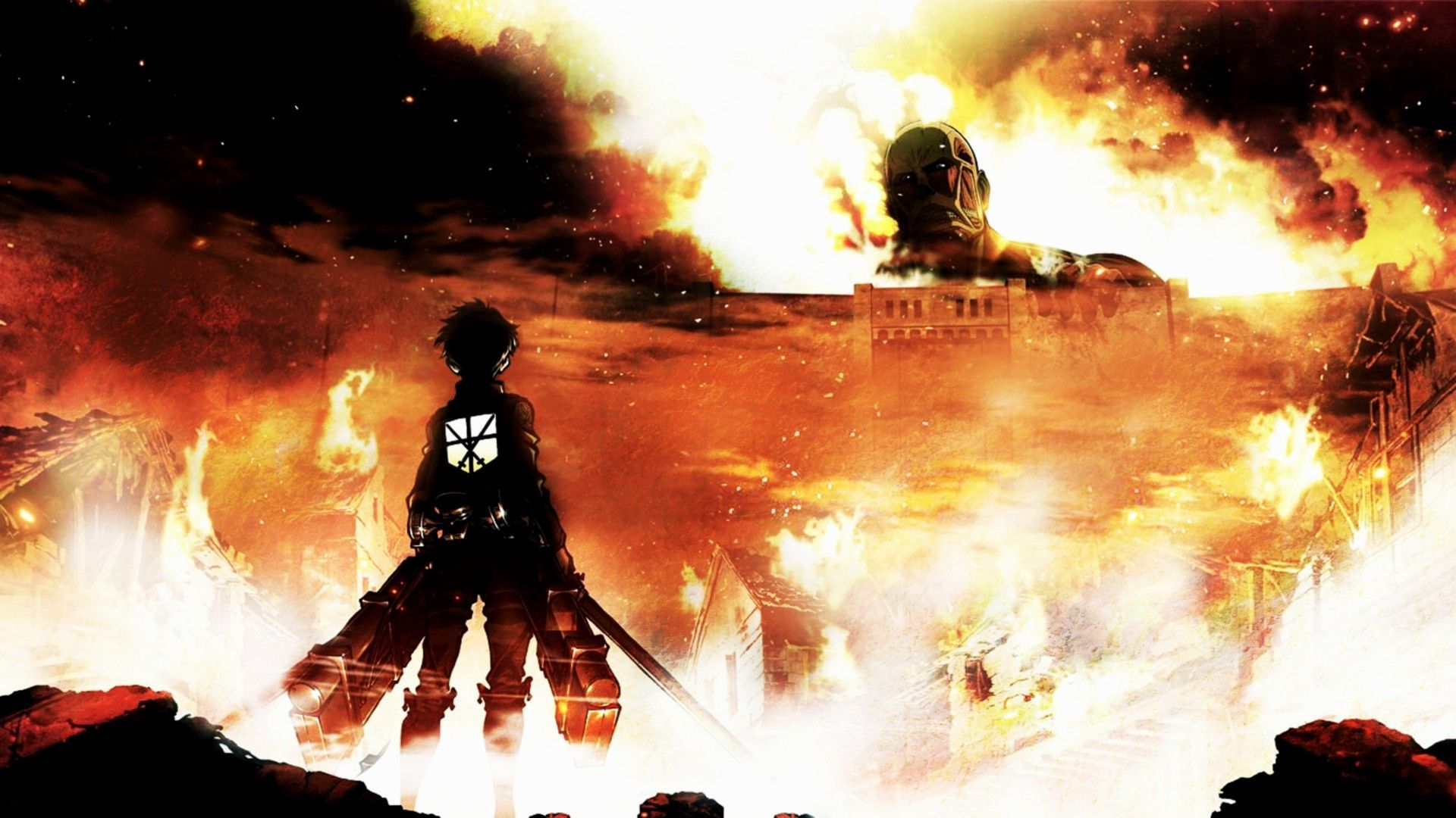 Attack On Titan Wallpaper 1920x1080