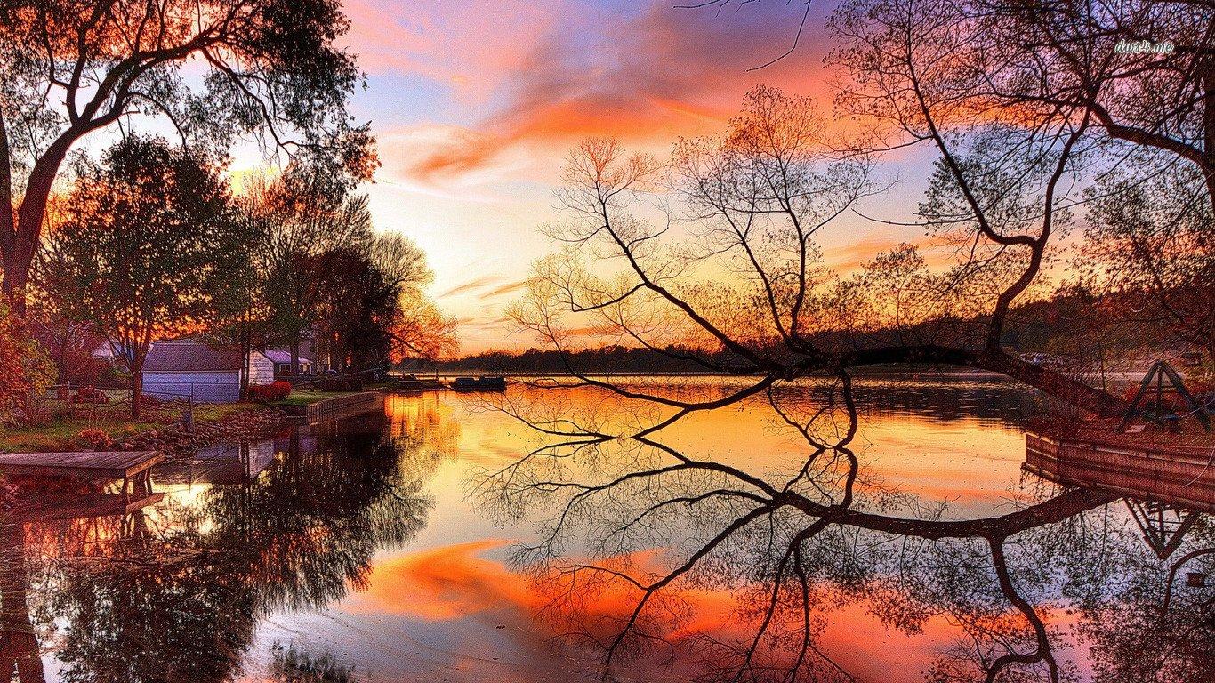 Autumn Scenes Desktop Wallpaper - WallpaperSafari
